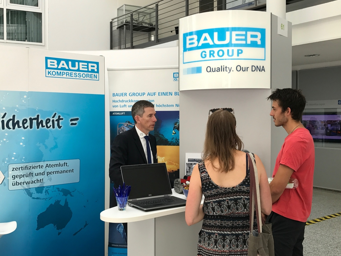 BAUER GROUP à la IKOM 2017, Munich