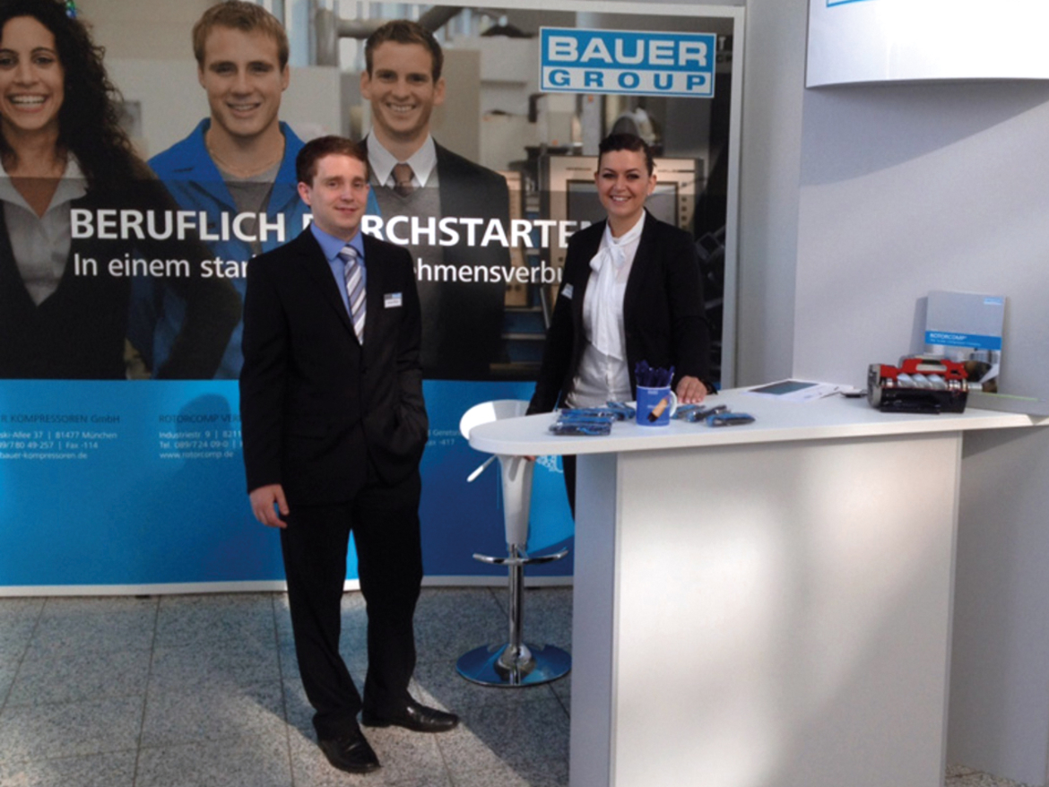 BAUER GROUP à l'IKOM 2012, Munich