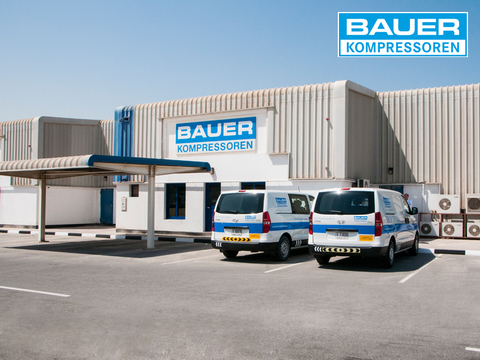 Company building of BAUER Middle East